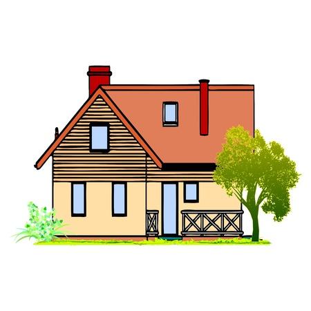 Home and Garden - vector Stock Vector - 13363673