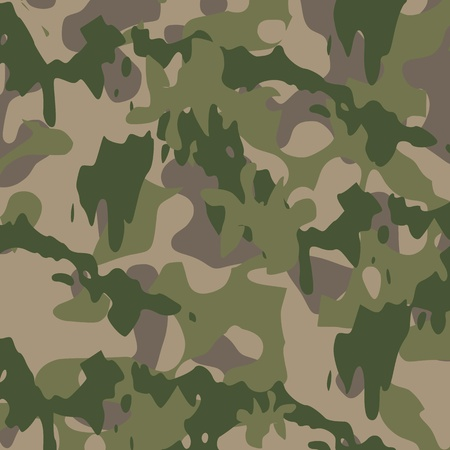 army background: Camouflage pattern - vector Illustration