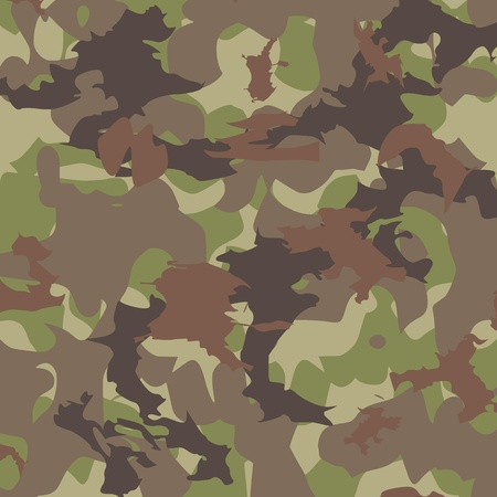 Camouflage pattern - vector Vector