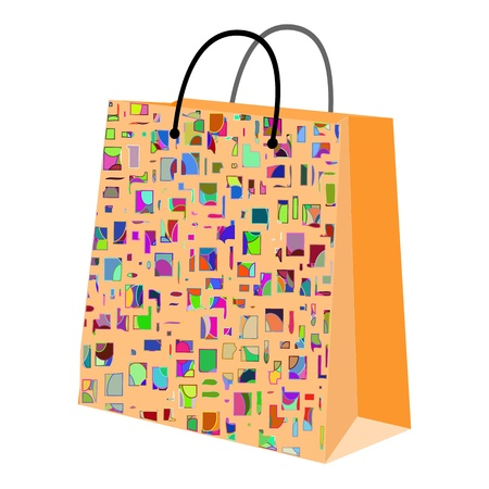 shopping bag - vector