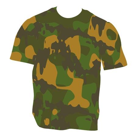 Military Shirt - vector Vector