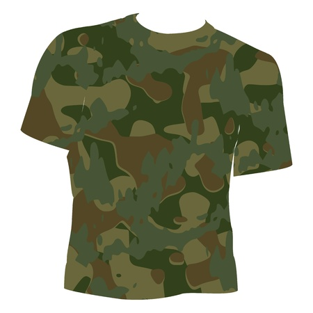 Military Shirt - vector Stock Vector - 13363556