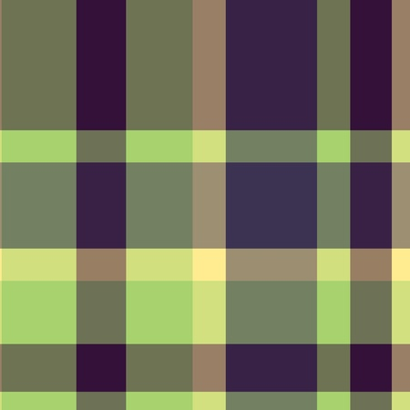 Tartan plaid fabric textile pattern - vector Stock Vector - 13363536