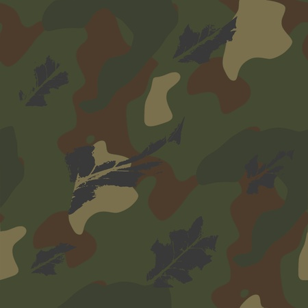 camouflage pattern - vector Stock Vector - 13426352