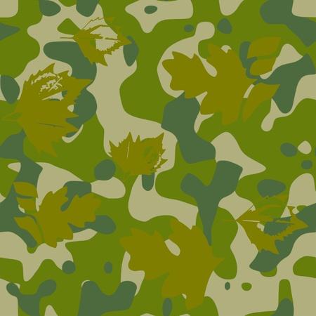 commando: camouflage pattern - vector Illustration