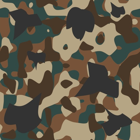 camouflage pattern - vector Stock Vector - 13426305