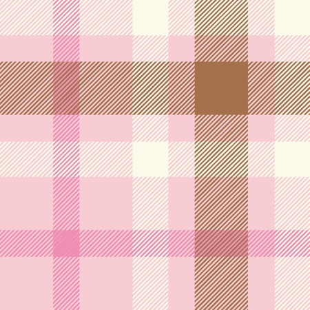 Tartan plaid fabric textile pattern - vector Illustration