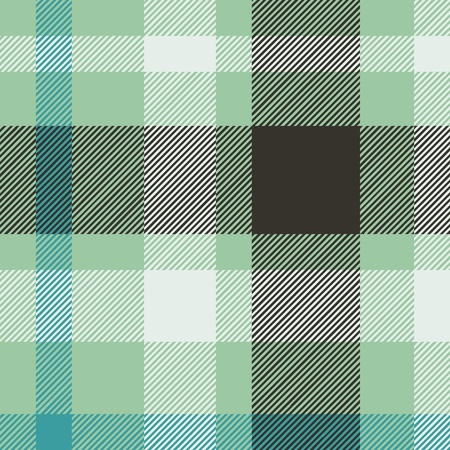 Tartan plaid fabric textile pattern - vector Illustration