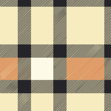 repeat square: Tartan plaid fabric textile pattern - vector Illustration
