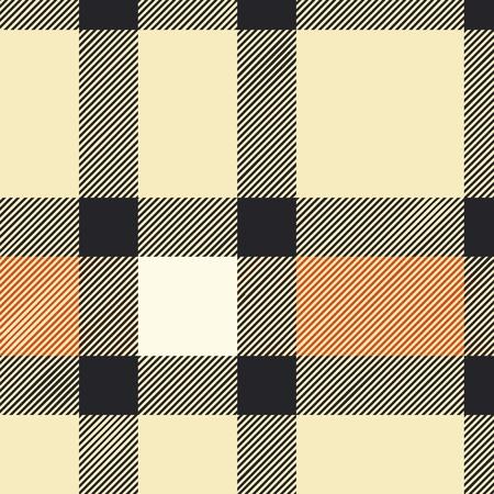 Tartan plaid tissu textile - vecteur