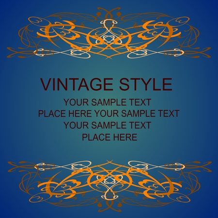 vintage style Stock Vector - 13425888