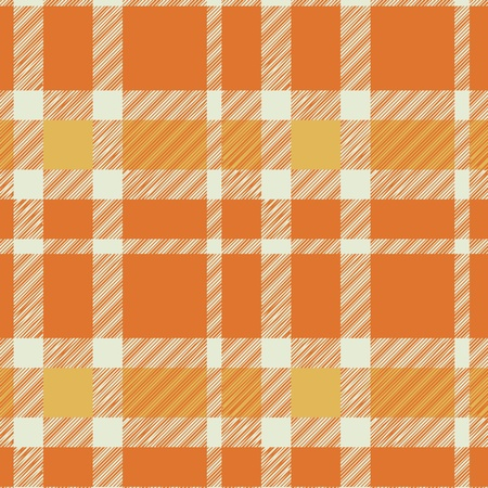 Tartan plaid fabric textile pattern - vector Stock Vector - 13426657