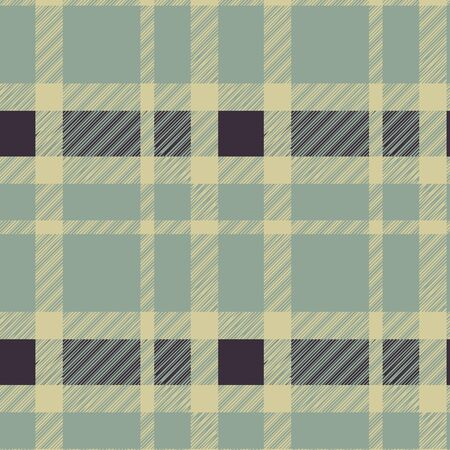 Tartan plaid fabric textile pattern - vector Stock Vector - 13426661