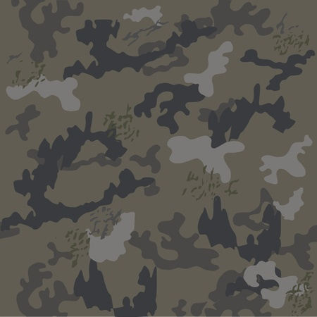 Camouflage pattern - vector Stock Vector - 13426593