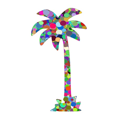 Abstract palm - vector Stock Vector - 13494371