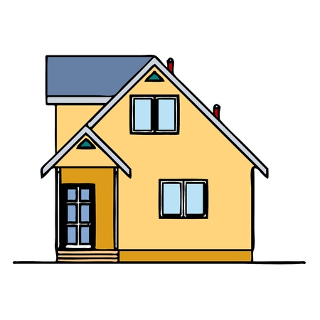 House - vector Stock Vector - 13714246