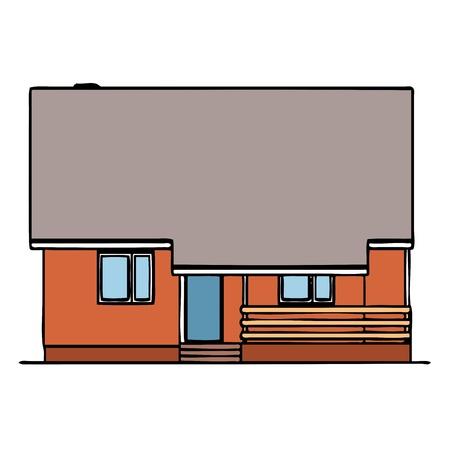 balk: House - vector Illustration