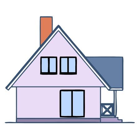 House - vector Stock Vector - 13714231