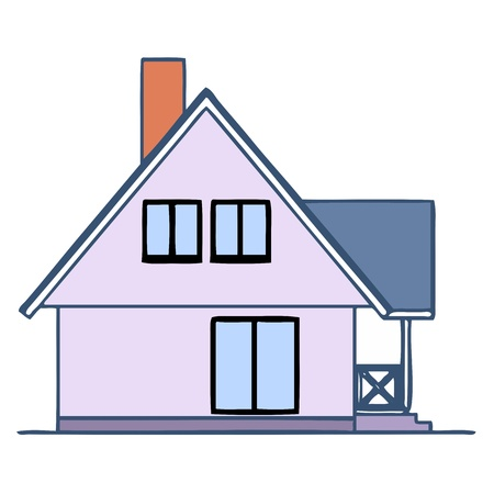 House - vector Stock Vector - 13714231
