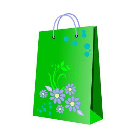 shopping bag - vector Vector