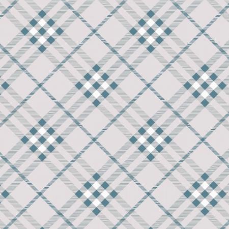 Tartan plaid fabric textile pattern - vector Vector