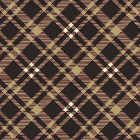 Tartan Plaid Pattern текстильной ткани - вектор