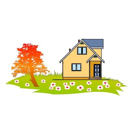 balk: Home and Garden - vector