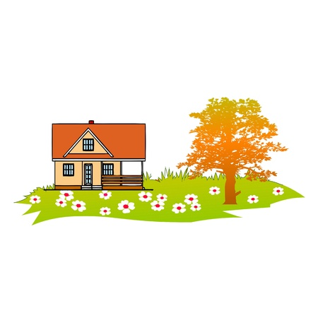 Home and Garden - vector Stock Vector - 13752837