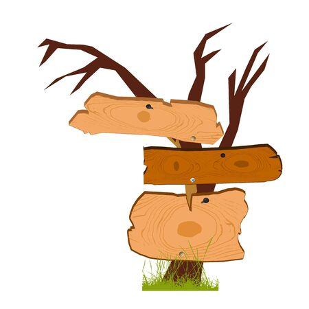 старый деревянный знак