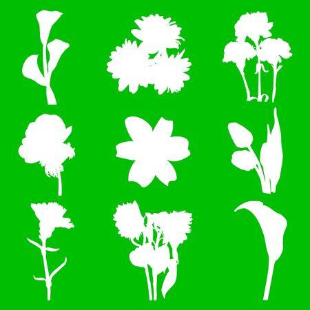 flowers Stock Vector - 13763617