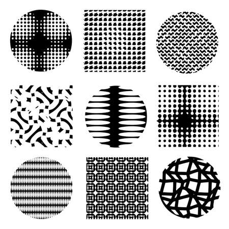 halftone dots for design - vector