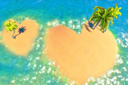 Islands of Love Stock Photo - 14324726