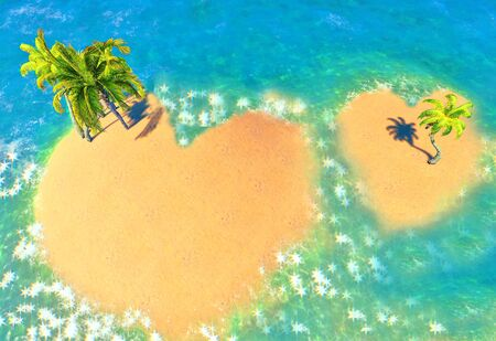 Islands of Love Stock Photo - 14324731