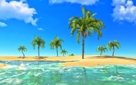 paradise lagoon photo