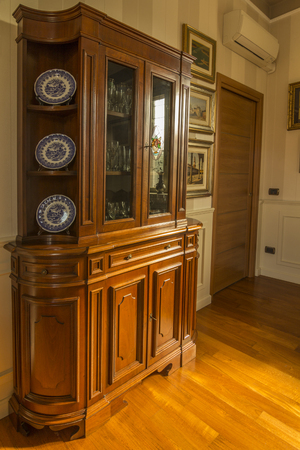 designates: antique wooden furniture