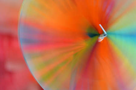 colrful: Pinwheel Stock Photo
