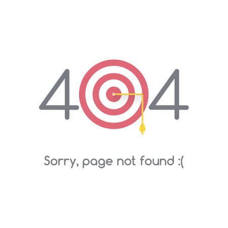 page layout: Error 404 page not found.
