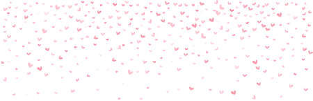 Vector pattern Valentines background. Pink hearts illustratiion