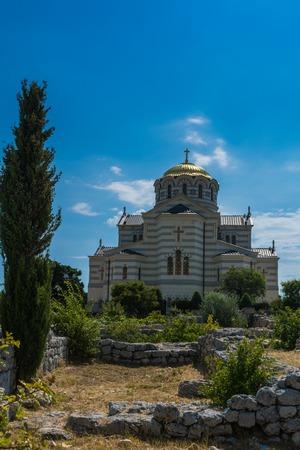 The Saint Vladimir Cathedral Stock Photo