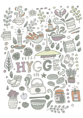 Time to Hygge 일러스트