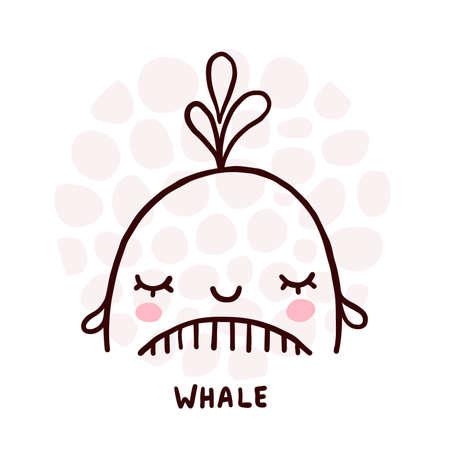 Cute Whale Portrait