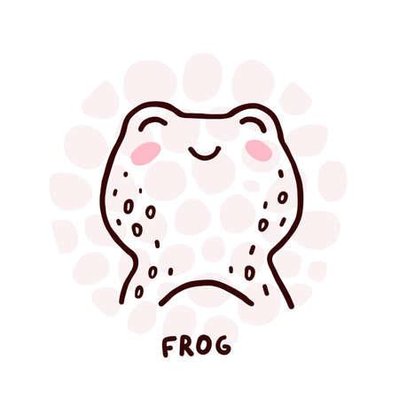 Cute Frog Portrait