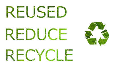 going green: Reuse, Reduce, Recycle