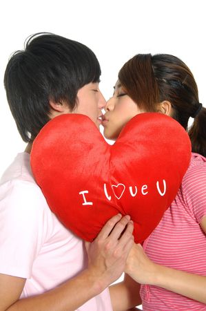 Young happy couple in love Stock Photo - 2937803