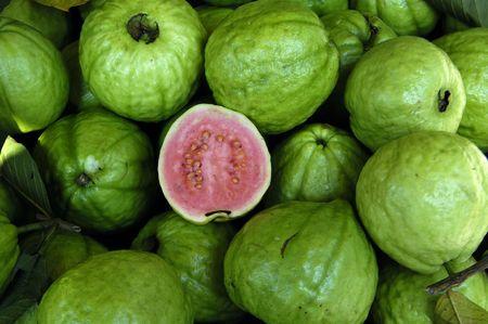 guava fruit background photo