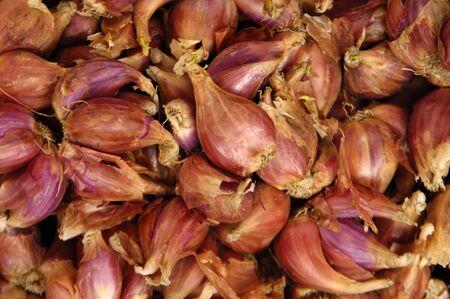 Pile onion background photo