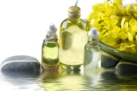 insent: Reflection for orchid, and massage oil