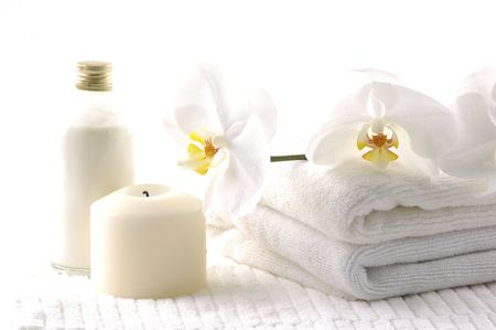 spa towels: Spa collection background