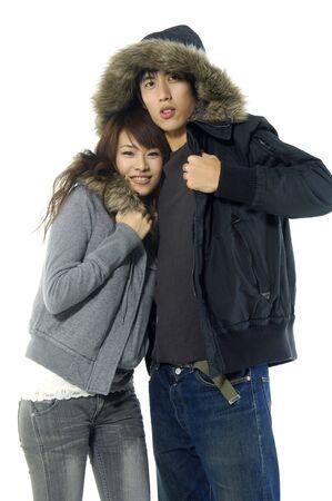 Loving young couple 版權商用圖片