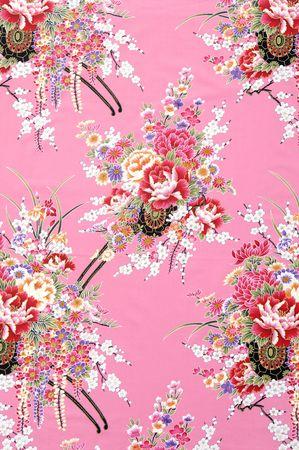 Traditional Chinese fabric sample 版權商用圖片